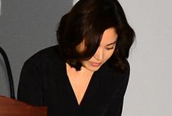 송혜교, '고개숙여 사죄'
