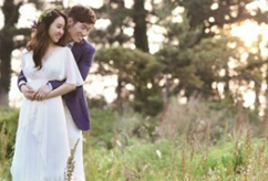 박지성-김민지, '웨딩화보'