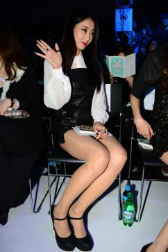 [포토] 나인뮤지스 경리, '앉아만 있어도 섹시해'