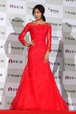[포토] 김서형, '섹시한 레드 드레스'