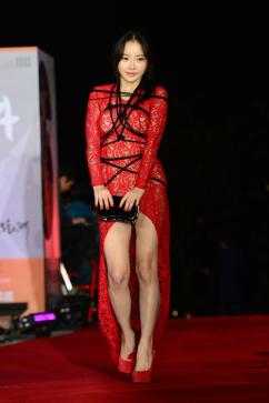 [포토] 한세아, 파격 드레스 '헉 소리는 노출'
