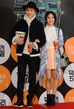 [포토] 정일훈-주 남매 '영화관 나들이 왔어요!'