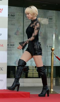 [포토] AOA 초아, '글래머 몸매'