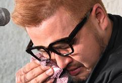 김태우, '눈물이 멈추지 않아'