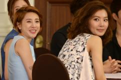 [포토] 서인영-윤소이, '행복한 미소'