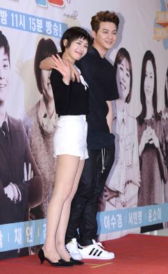 [포토] 김지훈-선우선 '우리 잘 어울리죠?'