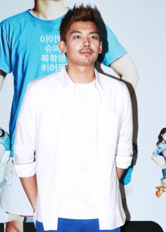 [포토] 정우식, '당당한 해병대원 포즈'