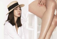 이혜영, '치마 끝 살짝 잡고'