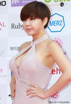 [포토] '핫 베이글녀' 류지혜, '풍만한 가슴라인'
