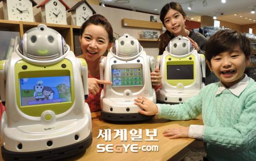 """롯데마트 교육용 로봇 """"아이로비G"""" 판매"""