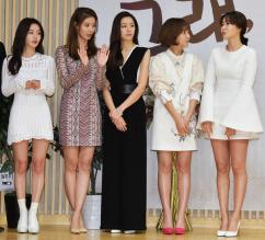 [포토] 여신들의 각선미 대결