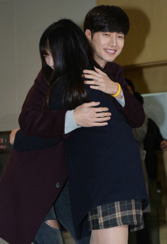 [포토] 박해진, '유정선배의 따뜻한 미소'