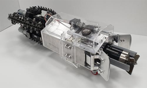 카이스트 명현 교수팀, 지하·극한지역 탐사용 두더지 로봇 개발