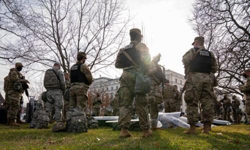 취임식 군사요새 된 워싱턴DC서 주택가 테러표적 되나