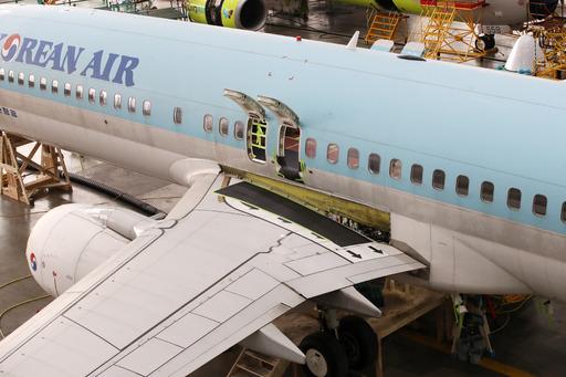 """우 부사장 """"보잉기 737 NG 기종 정비, 대한항공·진에어 자체적으로 수리하고 있다"""""""