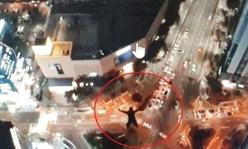 해운대 고층 건물서 고공낙하 즐긴 외국인…경찰 수사 착수